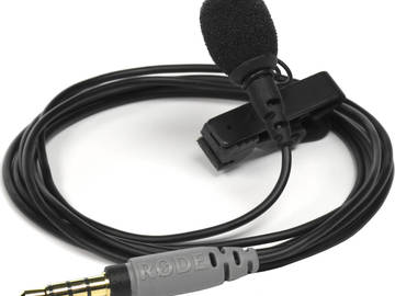 Rent: Rode smartLav+ Lavalier Microphone