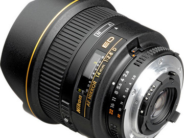 Rent: Nikon Nikkor Prime Lens Kit (No AF)