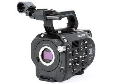 Sony PXW-FS7 w/ EF Mount Adapter