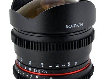 Rent: Rokinon Cine 8mm T3.8 Fisheye