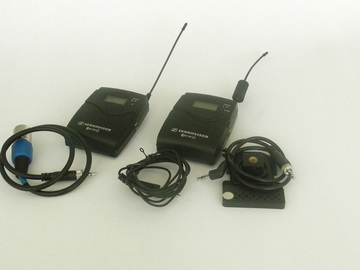 Rent: Sennheiser  G3 wireless lav set