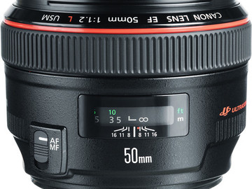 Rent: Canon 50mm f1.2 L