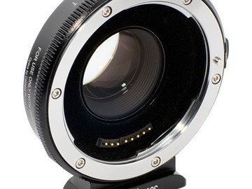 Rent: Metabones canon EF to BMPCC Speed Booster (Black Matt)