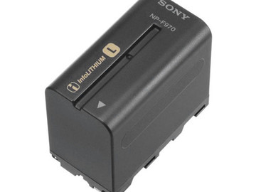 Rent: Sony NP-F970 L-Series Info-Lithium Battery Pack (6300mAh)