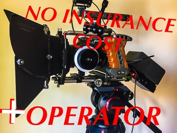 Rent: Blackmagic 4k complete Cinema Package with Master Operator!