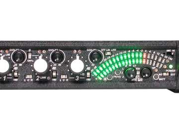 Rent: Sound Devices 302 Production Field Mixer