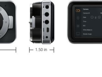 Rent: black magic pocket cinema camera