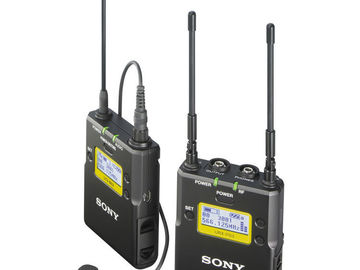 Rent: Sony UWP-D11 Sony Wireless Lav Kit with Sanken COS-11D