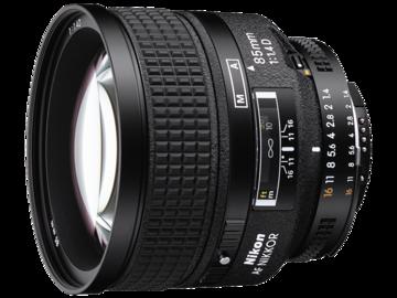 Rent: Nikon 85mm f/1.4D AF Nikkor Lens