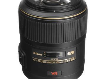 Rent: Nikon AF-S VR Micro-NIKKOR 105mm f/2.8G IF-ED