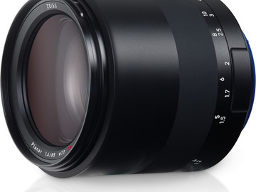 Rent: Zeiss Milvus 85mm f/1.4 ZE Lens for Canon EF