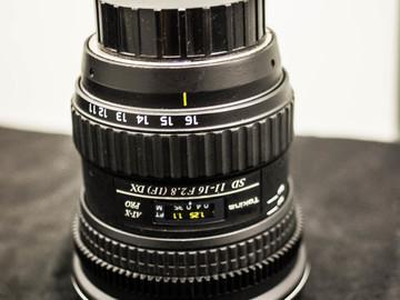 Rent: Tokina 11-16mm f/2.8 AT-X PRO DX for Nikon