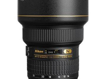 Rent: Nikon AF-S Nikkor 14-24mm f/2.8G ED