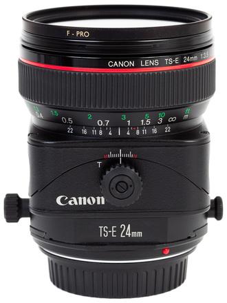 Canon L 24mm V2 Tilt Shift Lens (x3 available)