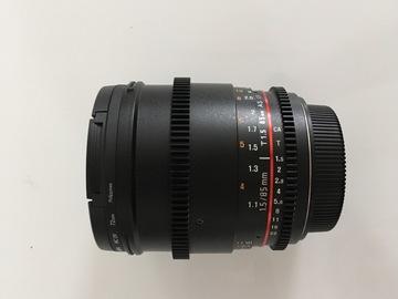 Rent: Rokinon 85mm T1.5 Cine DS Lens - Canon EOS Mount