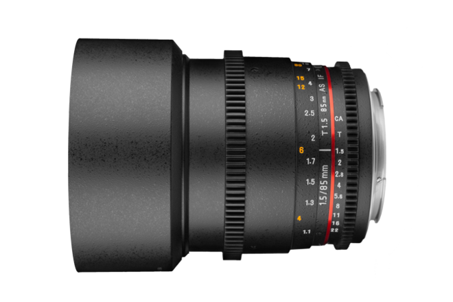 Rokinon Cine DS 85mm T1.5