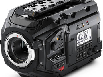 Blackmagic URSA Mini Pro 4.6K w PL and EF Mounts