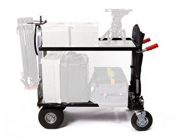 Rent: Magliner Jr. Camera Cart w/ Shelf, C-Stand & Tripod Holder