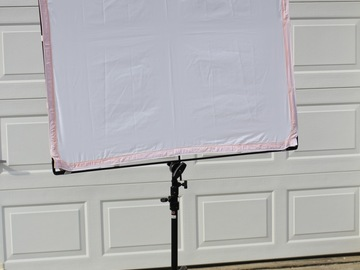 Rent: Matthews RoadFlag Fabric & Frame, Artificial Silk, 48x48""