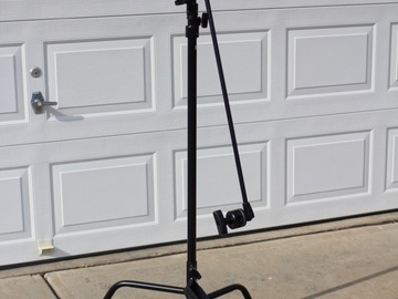 "Rent: Matthews C-stand (40"", black) - #1 of 3"