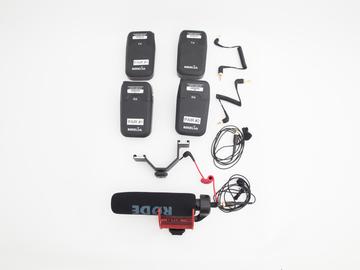Rent: Rode RodeLink FM Wireless Audio Set Up - Set of 2