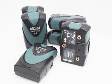 Rent: Anton Bauer Digital G90 Gold Mount Battery- Set of 6