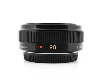 Rent: Panasonic Lumix G 20mm f/1.7 ASPH