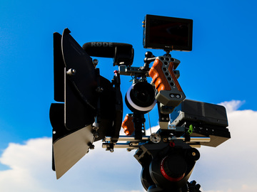 Camera rig support package for DSLR and Blackmagic