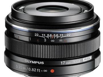 Rent: Olympus M. Zuiko Digital 17mm f/1.8 Lens Micro 4/3 DJI X5s