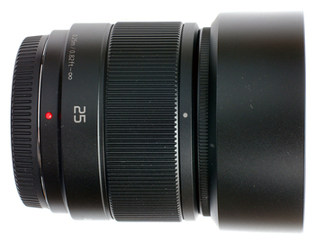 Rent: Panasonic Lumix G 25mm f/1.7 Lens for Micro Four Thirds