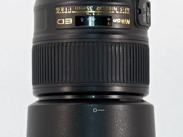 Nikon AF Nikkor 35mm f/1.8G