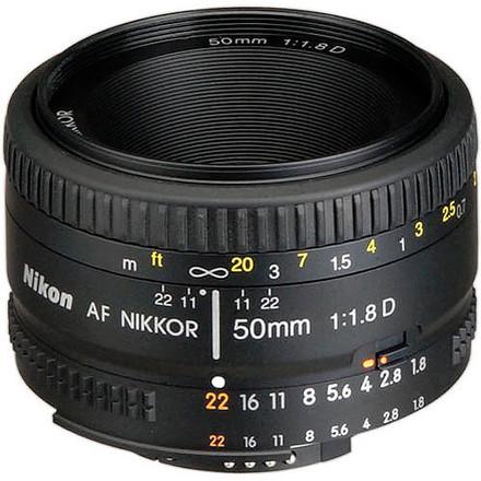 Nikon Nikkor Lens for Nikon F - 50mm - F/1.8