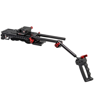 Zacuto VCT baseplate/shoulder pad, rods, grips (x4 available