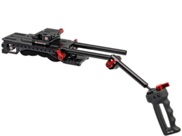 Rent: Zacuto VCT baseplate/shoulder pad, rods, grips (x4 available