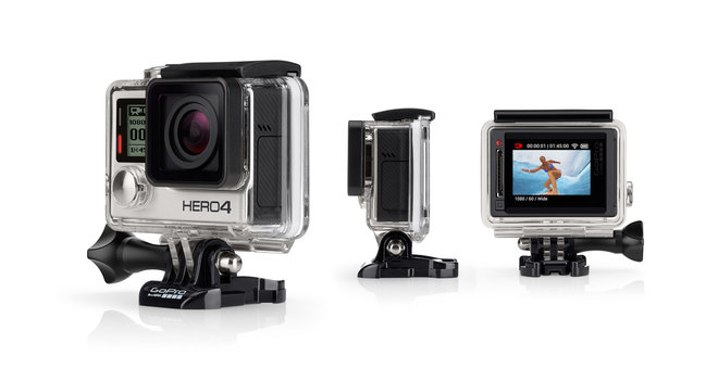 GoPro HERO 4 Silver Edition with 32GB microSD Card
