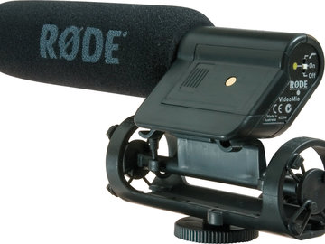 "Rent: Rode VideoMic with 1/8"" DSLR direct plug"