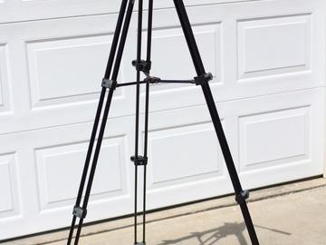 Rent: Manfrotto tripod - MVH500AH Head (flat base)  w/ 502AM legs
