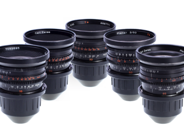 Rent: Zeiss Standard Speeds MKII T2.1 Set 16,24, 32, 50, 85mm