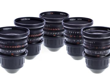 Rent: Zeiss Standard Speeds MKII T2.1 Set 16,24, 32, 50, 85mm
