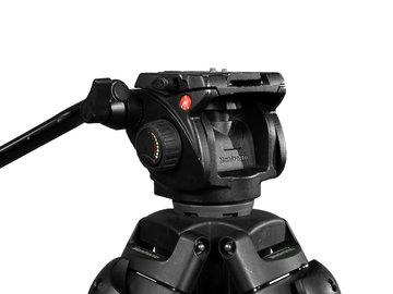 Rent: Manfrotto 501HDV Video Head and 547B Tripod (2 Available)