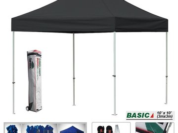 Rent: Eurmax Basic 10x10 Ft Ez Pop up Canopy Commercial Instant Te