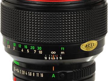 Rent: Canon Vintage FD Lens Set