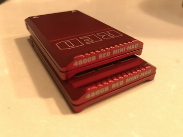 RED MINI-MAG - 480GB (2-PACK) + CARD READER