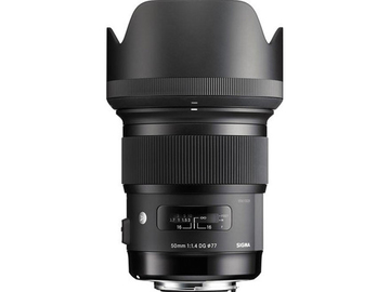 Rent: Sigma 50mm f/1.4 DG HSM Art Lens