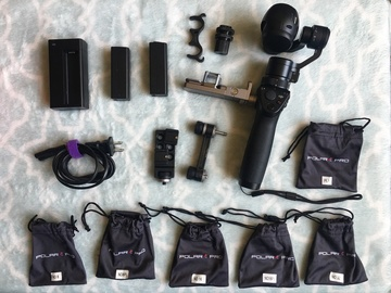 Rent: DJI Osmo PRO Kit w/ ND Filters and Car/Bike Mounts