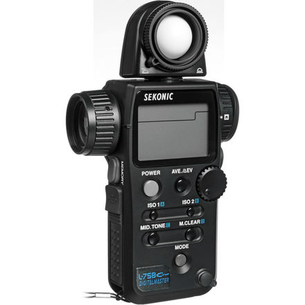 SEKONIC L-758 CINE DIGITALMASTER LIGHT METER PRO