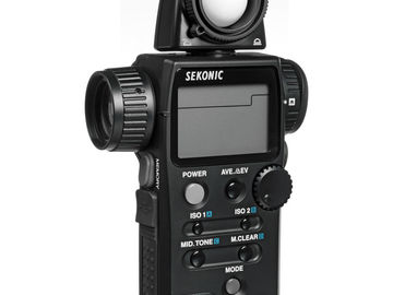 Rent: SEKONIC L-758 CINE DIGITALMASTER LIGHT METER PRO