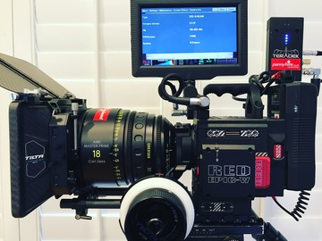 "Rent: #2 RED EPIC-W HELIUM 8K + 7"" RED TOUCH + 2 x 512GB PL+EF"