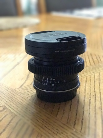 Contax Zeiss 50mm 1.7 - 80mm Front + FF Geared