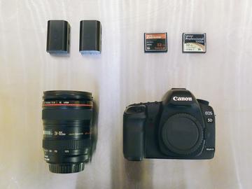 Rent: Canon 5d Mk II Basic Kit